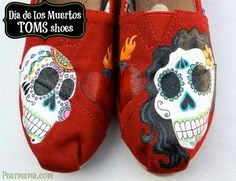 Dia de los Muertos TOMS shoes