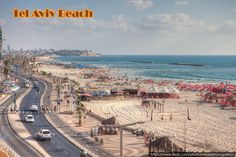 Tel Aviv #Beach  #TelAviv is the second most populous #city in #Israel, after #Jerusalem, with a population of 414,600. It is located on the Mediterranean coast in central-west Israel, within Gush Dan, Israel's largest #metropolitan area, containing 42% of Israel's population.   Best selling deals in Tel Aviv with #TourCenterUK http://www.tourcenter.co.uk/asia/israel/tel-aviv