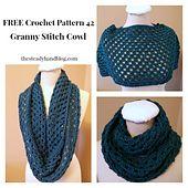 Ravelry: Granny Stitch Cowl pattern by Aprile Mazey