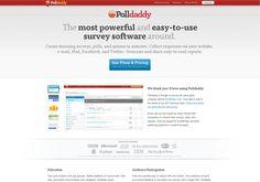 http://polldaddy.com via @url2pin. Para crear encuestas