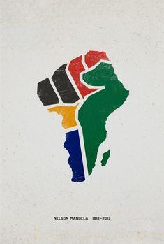 Mandela Tribute: Fist