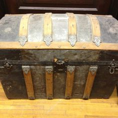 Antique trunks are the best!