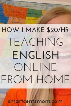 ways to make money | get paid to teach english |  money making ideas for stay at home moms
