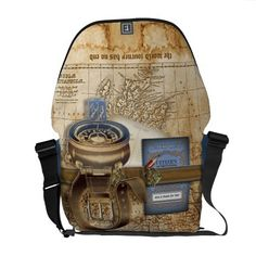 Shop The Traveller Personalized Messenger Bag created by LaBoutiqueEclectique. Personalize it with photos & text or purchase as is! Pack Your Bags, Cute Bags, Beautiful Bags, Bag Accessories, Purses And Bags, Backpacks, Perfume, Handbags, My Style
