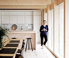 Une cabane d'aujourd'hui   la cabane scandinave de Kati Hienonen