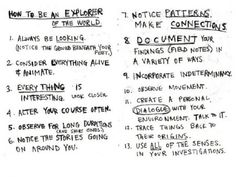 Make Room for Discovery: Five Simple Steps For Explorers | Education on GOOD