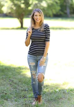 you can't go wrong with classic stripes!