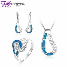 Check Out Our Latest Offer: Sterling Silver O...   Awe Inspiring Discounts!  View Now: http://match-price.net/products/sterling-silver-opal-earring-ring-necklace-pendant-set?utm_campaign=social_autopilot&utm_source=pin&utm_medium=pin