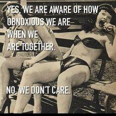 Yup sisters...love u jess