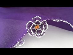 Needle Lace, Embroidery, Crochet, Flowers, Youtube, Jewelry, Art, Crochet Flowers, Hand Embroidery