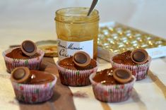 Toffifee-Muffins - #ToffifeeMuffins Cakepops, Donuts, Sweets Cake, Mini Cakes, Baking, Desserts, Blog, Recipes, Sweetest Thing