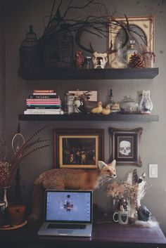 STUCK WITH PINS: Tour My Workspace