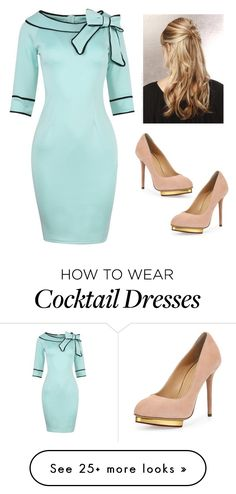 """Retro"" by larii-marii1d on Polyvore featuring Charlotte Olympia"