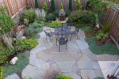 Beautiful backyard garden by Jeffrey Bale