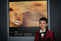 """At a glittering awards ceremony in London on the 24 October 12 year old Skye Meaker, whose photograph titled """"Vanishing Lions"""" was a finalist in the year age category in the 2014 Wildlife Photographer of the Year Competition. 12 Year Old, Competition, Wildlife, Tours, Photography, Fotografie, Photography Business, Photo Shoot, Fotografia"""