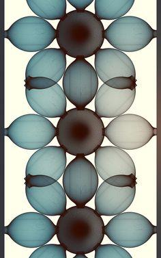 Wall Forms' by Romanian artist Cristian Boian. Digital art that feels like blown glass. via Grassroots Modern Textile Patterns, Print Patterns, Textiles, Generative Art, Cleaning Walls, Elements Of Design, Design Graphique, Digital Pattern, Fractal Art
