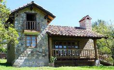 Combinación de distintos tipos de Cabaña – Fachadas de Casas #casasrusticasfachadasde #Modelosdecasas