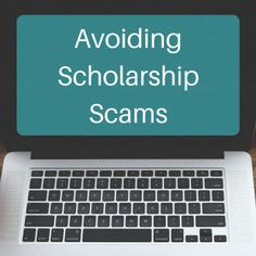 There are scholarship scams out there. Check out these red flags to avoid when s… - College Scholarships Financial Aid For College, College Fund, College Planning, College Hacks, School Scholarship, Scholarships For College, Student Loans, College Students, College Counseling