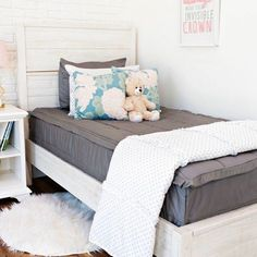 Mixing up our Modern Gray!  How would you style one of our top sellers? Use code PINTEREST for 20% off your order! #beddys #zipperbedding #zipyourbed #boysroom  #boysroomdecor #girlbedding #girlbed #beddysbeds #girlyroom #girlsroomdecor #girlsroom #girlsroominspo #girlsroominspiration #girlsroomdecoration #girlsroomstyling #girlystuff #bedding #beddings #homedecor #homedesign Decor, Boys Room Decor, Grey Girls Rooms, Shabby Chic Bedroom, Cheap Home Decor, Home Decor, House Interior, Chic Bedroom, Grey Bedding