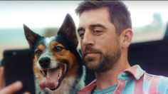 A new State Farm commercial featuring Aaron Rodgers and his dog Rigsbee sharing their memories of Aaron's truck will be broadcast this weekend.