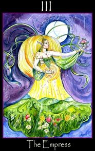 The Empress - Tarot of the Sidhe