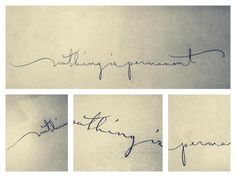 Hand Lettering by Valeria Melo, via Behance
