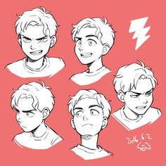 Discover ideas about drawing expressions Cartoon Kunst, Cartoon Art, Cartoon Faces, Cartoon Drawings, Art Reference Poses, Drawing Reference, Hand Reference, Drawing Tips, Drawing Sketches