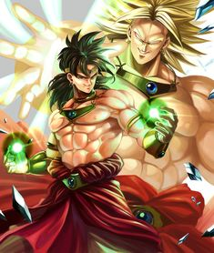 The legendary super Sayain