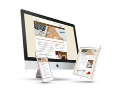 Nouveau site web - Rédaction Manon Arcand