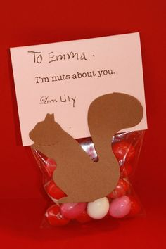 Squirrel Valentine