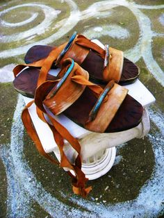 DELOS 5  SANDALS LEATHER / color and by GreekSandalsMelahris