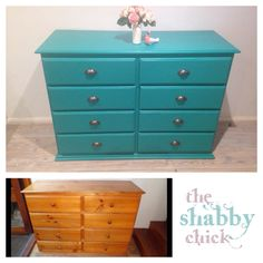 Nursery makeover Florence chalk paint by the shabby chick