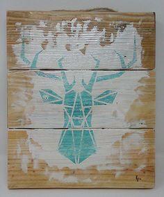 Tableau décoratif imprimé puis vernis sur du bois de palette. dimension    23 cm x 0afb17869d66