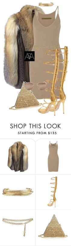"""""""Untitled #429"""" by ana-astylist ❤ liked on Polyvore featuring Anne Klein, Enza Costa, Jennifer Fisher, Giuseppe Zanotti, Chanel, Judith Leiber and Linda Farrow"""