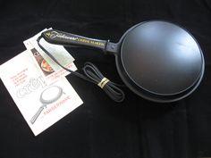 #farberware #crepes #maker #kitchen #cooking #vintage #cookware #bonanza