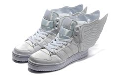 2012 Adidas X Jeremy Scott Wings 2.0 Shoes All White [ad2012] - $128.00 : Buy Jeremy Scott Adidas and JS Wings Shoes Online Free Shipping