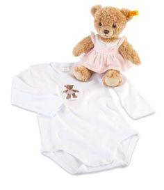 Steiff 25cm Gift Set Includes Sleep Well Bear (Pink)