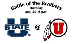 Battle of the Brothers: Utah vs. Utah State