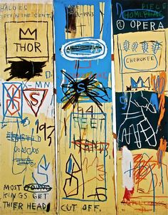 """Original Edition Giclee on premium paper, 2012. Paper Size: 24"""" x 18."""" Unsigned & unnumbered. Published by Artestar. Excellent Condition; never framed or matted. JEAN-MICHEL BASQUIAT (1960-1988) New Y"""