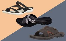 Adidas Slides, Walk This Way, Walk On, Sport Sandals, Slide Sandals, Skechers Performance, Best Walking Shoes, Travel And Leisure