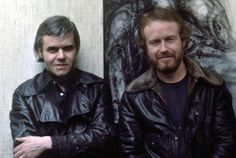 H. R. Giger and Ridley Scott