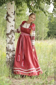 Народный костюм мод. 11 - сарафан,народный костюм,русский народный ...