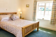 We have 2 spacious king sized bedrooms Log Fires, Farm Cottage, King Size, Bedrooms, Furniture, Home Decor, Fireplace Set, Wood Burning Fireplaces, Decoration Home