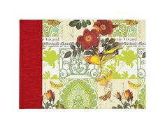 """Adorable Music Composition Book w/staff paper """"SONG BIRD"""" by WolfiesBindery $25"""
