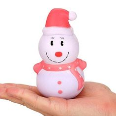Christmas Toy, UMFun Xmas Snowman Scented Slow Rising Decompression Toy Charms Soft Squishy Release Stress >>> Find out more about the great product at the image link. (This is an affiliate link) Christmas Scents, Baby Christmas Gifts, Christmas Toys, Christmas Snowman, Merry Christmas, Funny Xmas, Kids Toys, Baby Gifts, Hello Kitty