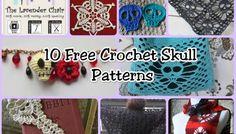 10 Free Skull Crochet Patterns