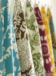 Thomas Paul Fabric Collage. Love the bold colors and large-scale whimsical patterns.