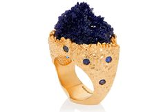 The Sur La Cote D'Azur ring by Ornella Ianuzzi
