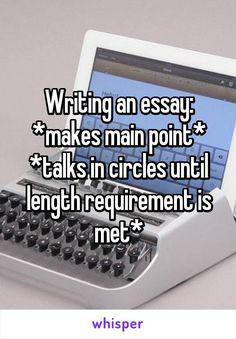 short essay exam length