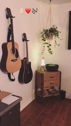 Rachel Talbott's music room